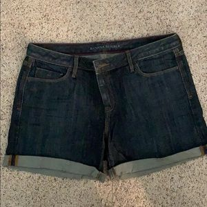 Banana republic size 29 rolled cuff jean shorts